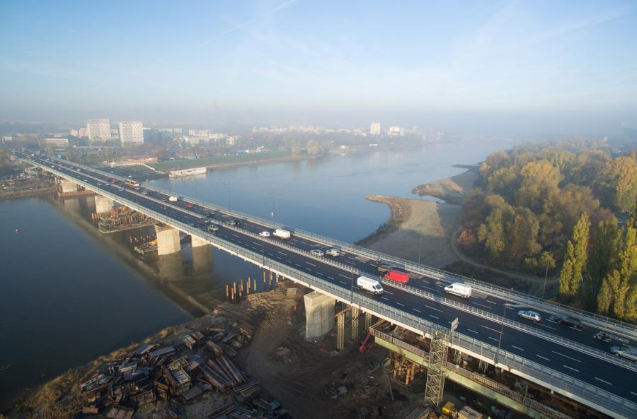 Most Łazienkowski;Warszawa