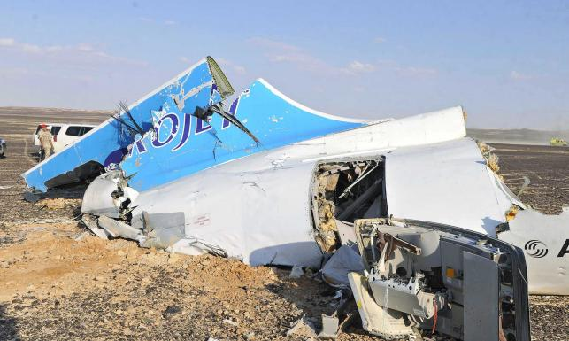Na półwyspie Synaj rozbił się rosyjski samolot. Zobacz ZDJĘCIA z miejsca katastrofy