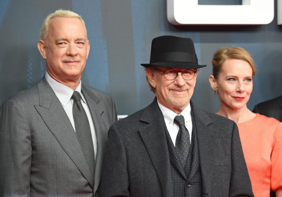 Tom Hanks, Amy Ryan i Steven Spielberg