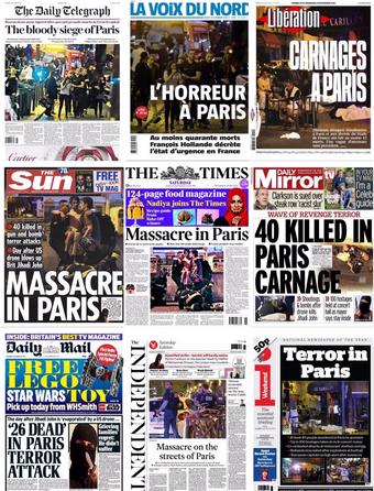 Media o zamachu
