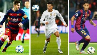 Lionel Messi, Cristiano Ronaldo i Neymar