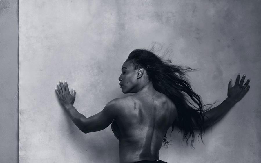 Tenisistka Serena Williams - Kalendarz Pirelli 2016