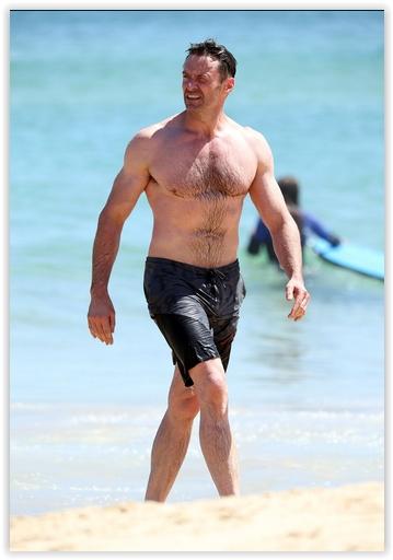 47-letni Hugh Jackman w doskonałej formie! Jak on to robi?