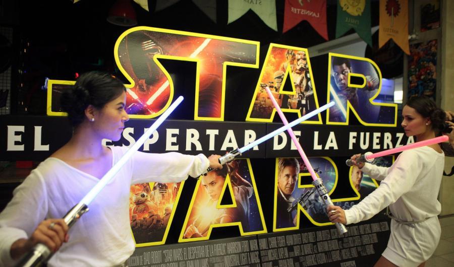 """Premiera """"Gwiezdnych wojen"""" w kolumbijskim Medellin"""