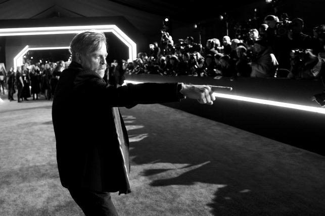"""Mark Hamill premierze """"Gwiezdnych wojen"""""""