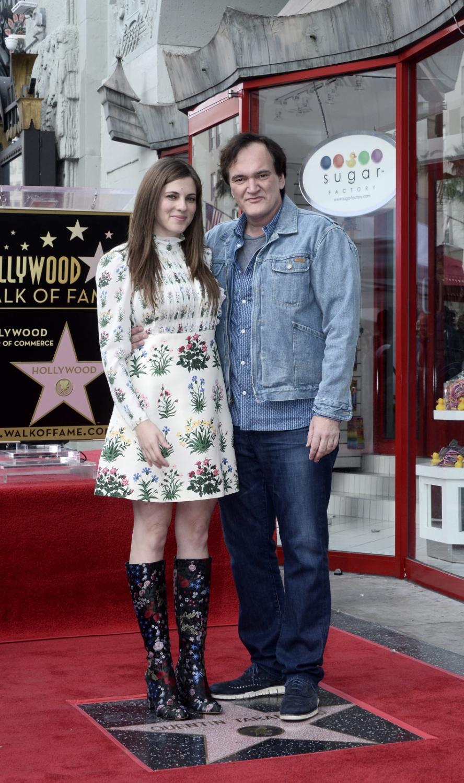 Quentin Tarantino i Courtney Hoffman