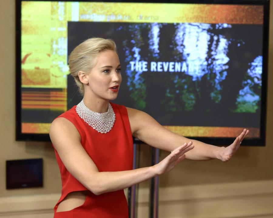 Złote Globy zza kulis: Jennifer Lawrence