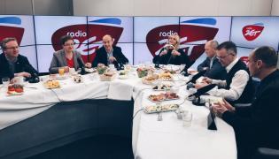 Politycy w studiu Radia ZET