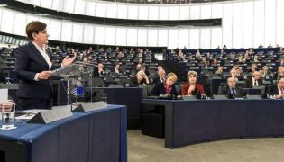 Beata Szydło w europarlamencie