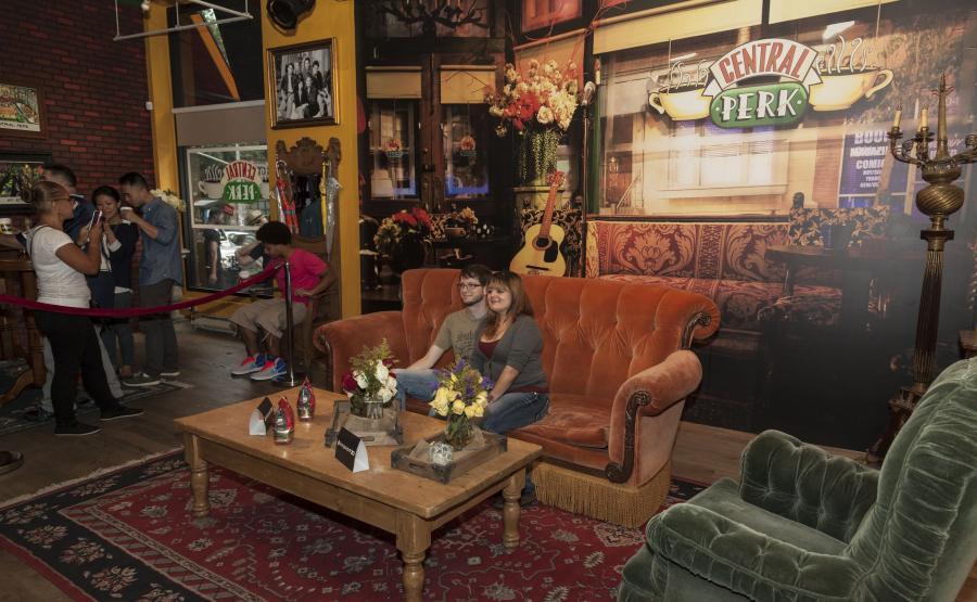 Przyjacielskie Central Perk - Nowy Jork serialowo