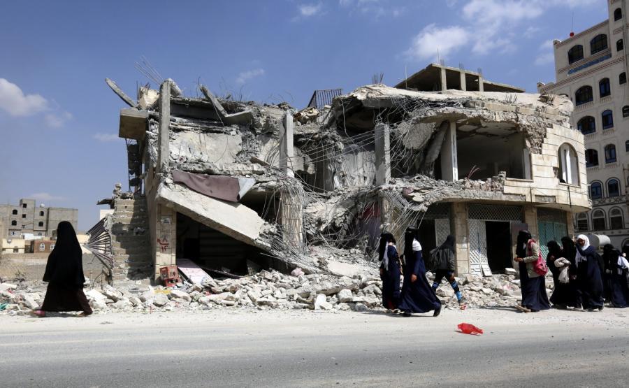 Sana w Jemenie