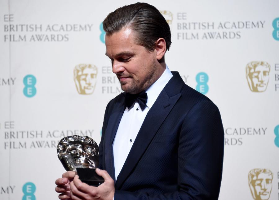 Leonardo DiCaprio doceniony przez Brytyjczyków