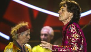 Mick Jagger z The Rolling Stones w Rio de Janeiro