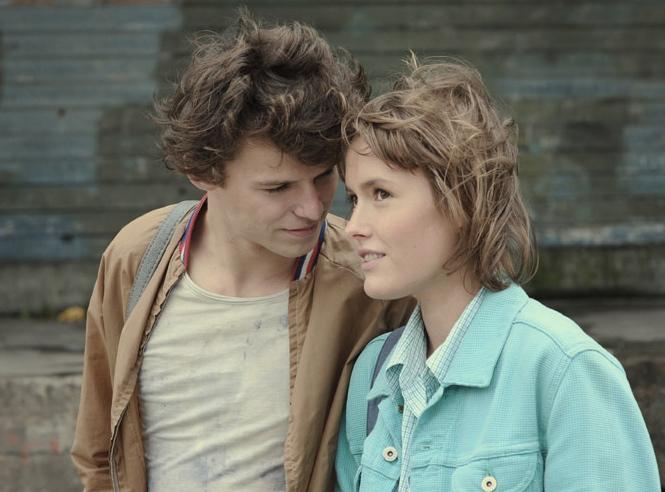 Mateusz Kościukiewicz i Olga Frycz w filmie Jacka Borcucha \