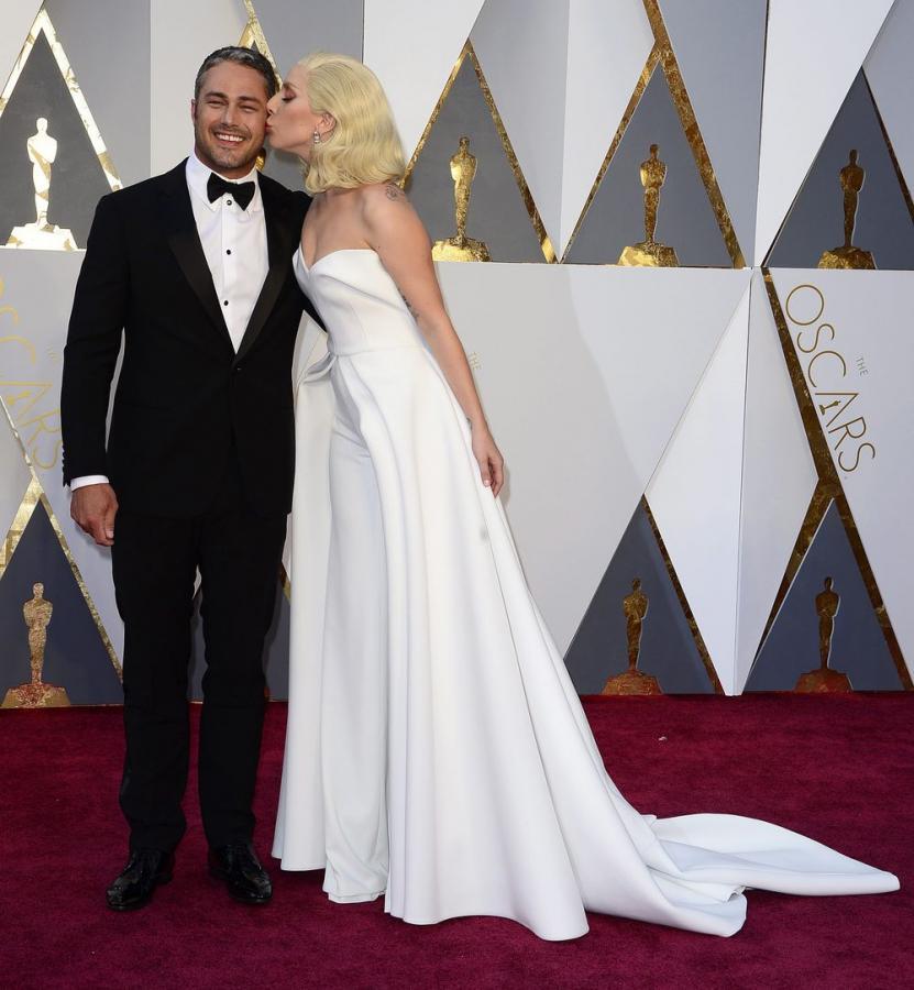 Lady Gaga i Taylor Kinney na Oscarach