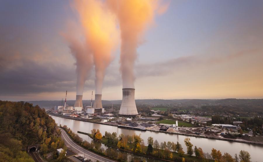 Elektrownia atomowa Tihange w Belgii