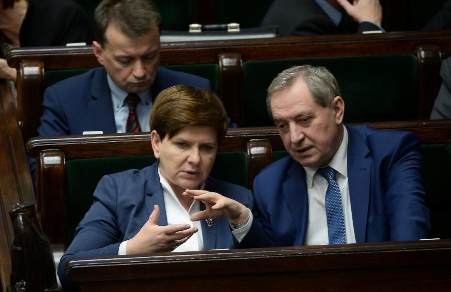 Beata Szydło i Henryk Kowalczyk