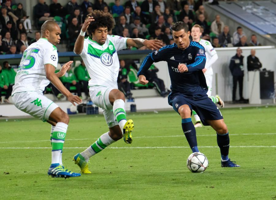 Dante i Cristiano Ronaldo