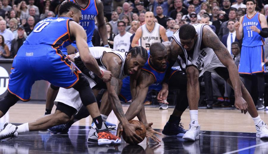 Oklahoma City Thunder - San Antonio Spurs