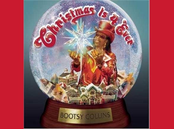 Bootsy Collins lubi spędzać święta w kuli
