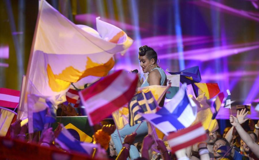I półfinał Eurowizji 2016 - reprezentantka Finlandii Sandhja