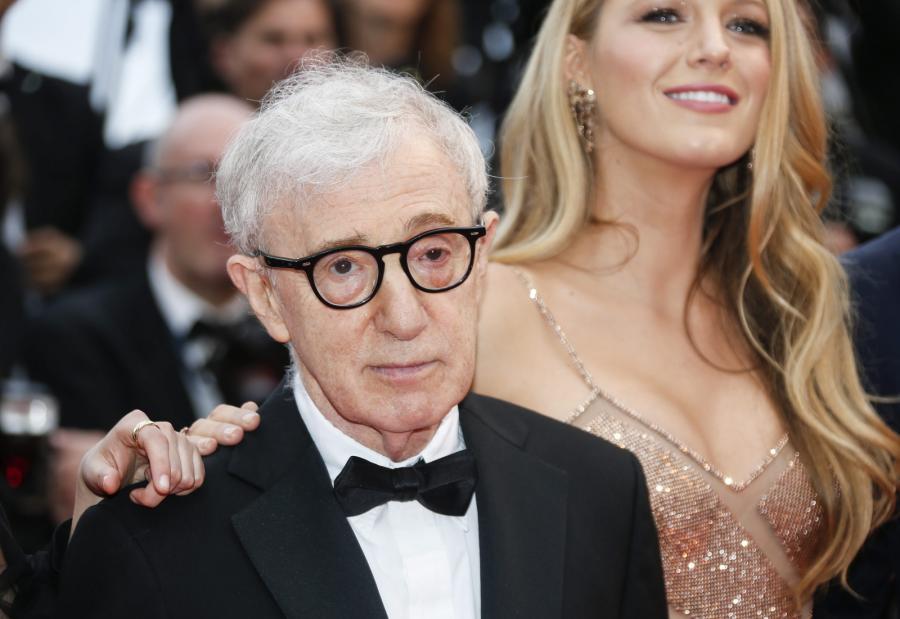 Woody Allen i jego gwiazda Blake Lively