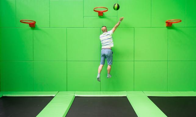 Rozrywka jakich mało. Oto wrocławski park trampolin [ZDJĘCIA]