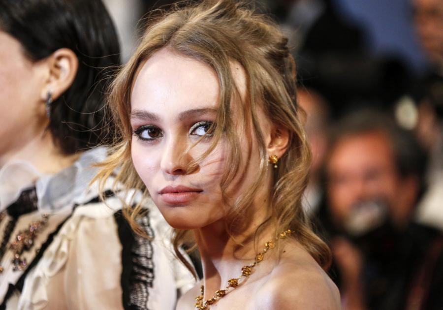Lily-Rose Depp po raz pierwszy w karierze odwiedziła Cannes