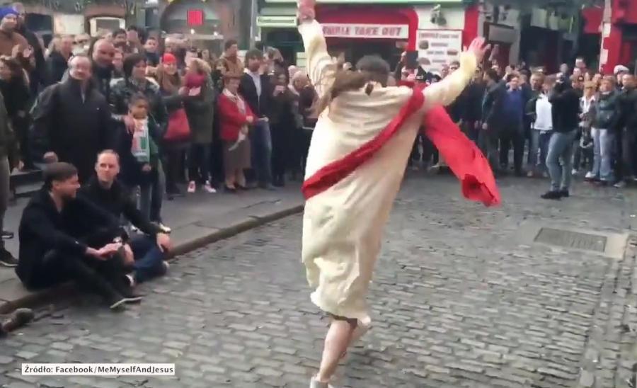 Tańczący Jezus w Dublinie