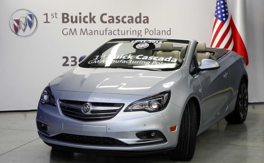 Cascada jest pierwszym Buickiem i pierwszym modelem w ogóle, który gliwickie zakłady eksportują do Stanów Zjednoczonych