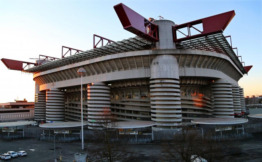 Stadion w Mediolanie