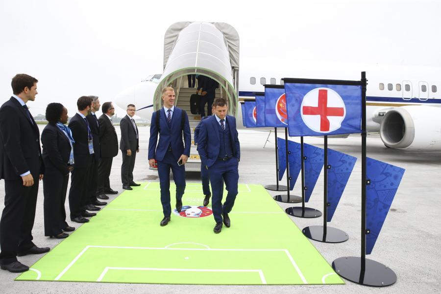 Anglicy wylądowali we Francji