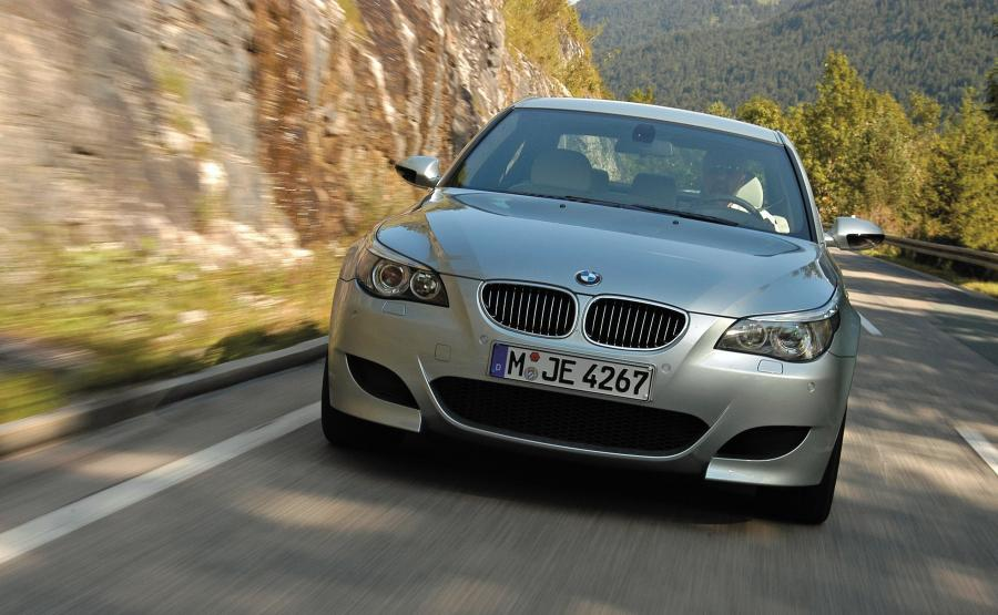 BMW M5 (E60) produkowane w latach 2004-2011