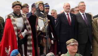 Antoni Macierewicz na apelu grunwaldzkim