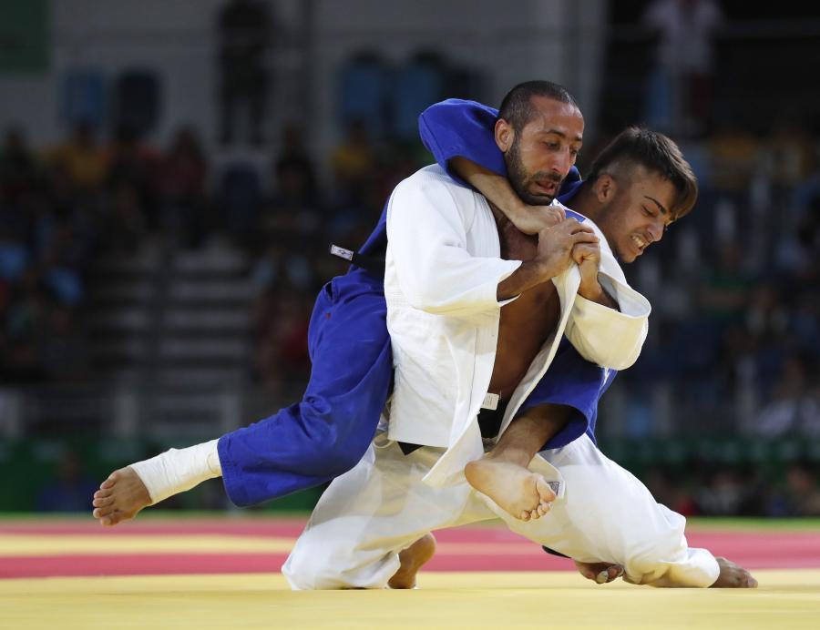 Na tatami w Rio de Janeiro nikt się nie oszczędza. Efektowne rzuty esencją judo