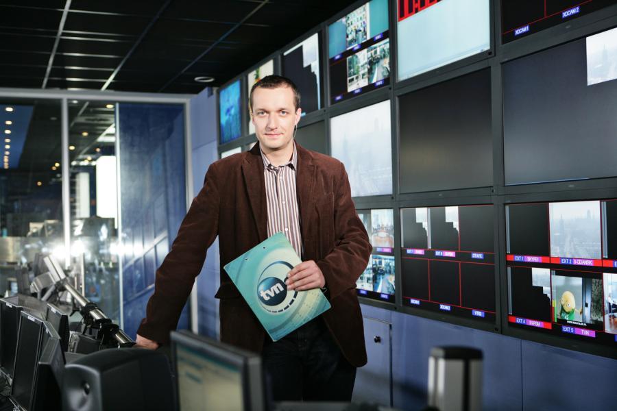 Marcin Mazur w TVN24