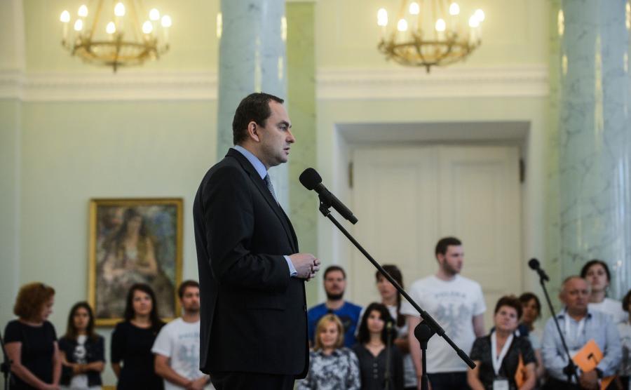 Adam Kwiatkowski, szef gabinetu prezydenta Andrzeja Dudy