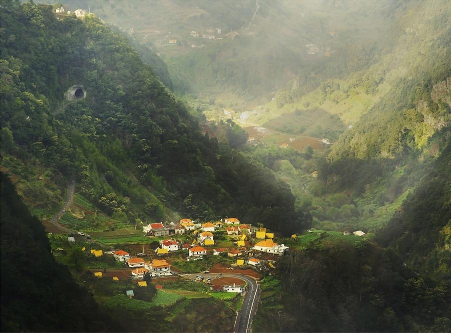 Madera - kraina kwiatów i lewad