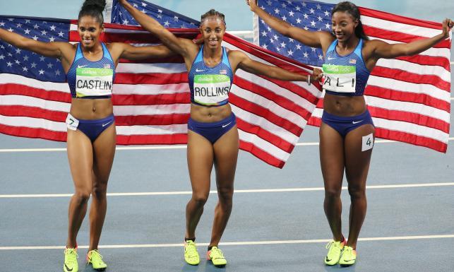 Szybkie jak błyskawica, a do tego urodziwe. Lekkoatletki z USA błyszczą na bieżni w Rio de Janeiro