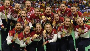 Rosjanki z medalami