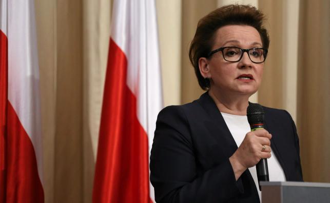 Anna Zalewska, minister edukacji narodowej
