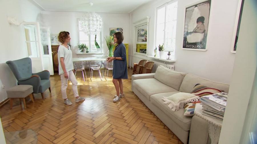 Mieszkanie w stylu przedwojennym