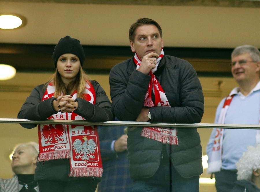 """Lis z córką, Olejnik z partnerem i żony piłkarzy. Oni wszyscy """"na żywo"""" dopingowali Polaków"""