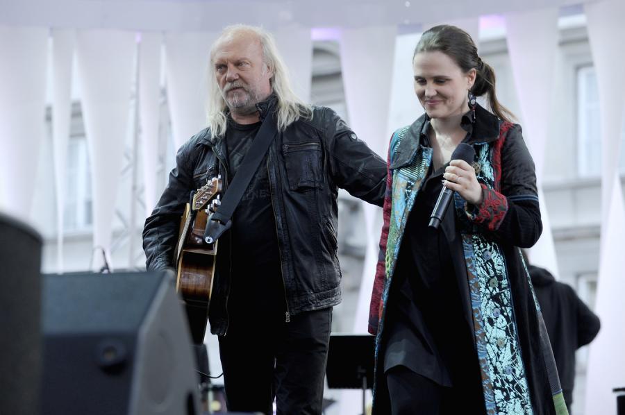 Andrzej i Maja Sikorowscy