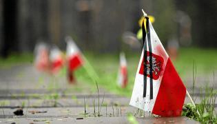Katyń. Cmentarz wojenny, na którym pochowani są polscy oficerowie zamordowani przez NKWD