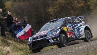 Sebastian Ogier za kierownicą Volkswagena Polo WRC