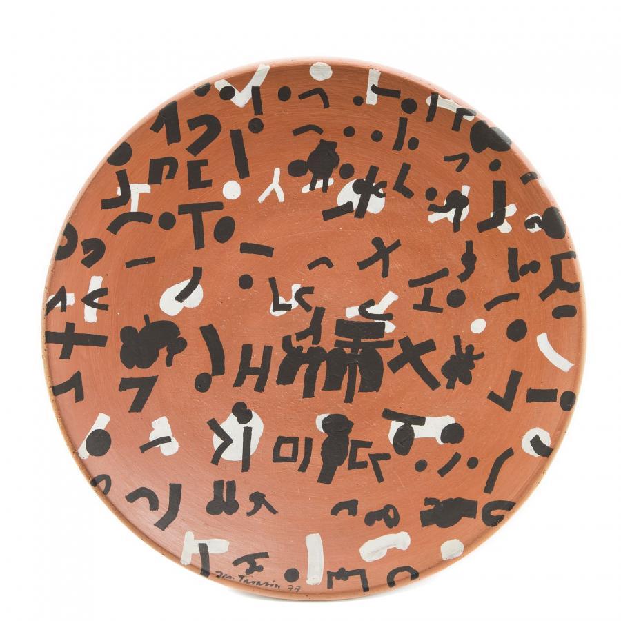 Malarstwo na ceramice: Jan Tarasin