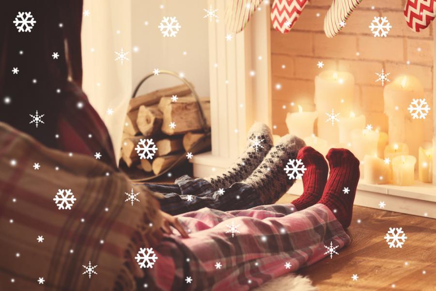 Domowy relaks zimą