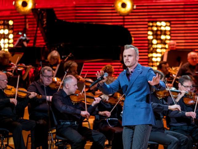 Piotr Rogucki z towarzyszeniem Narodowej Orkiestry Symfonicznej Polskiego Radia, 27 listopada 2016, Katowice