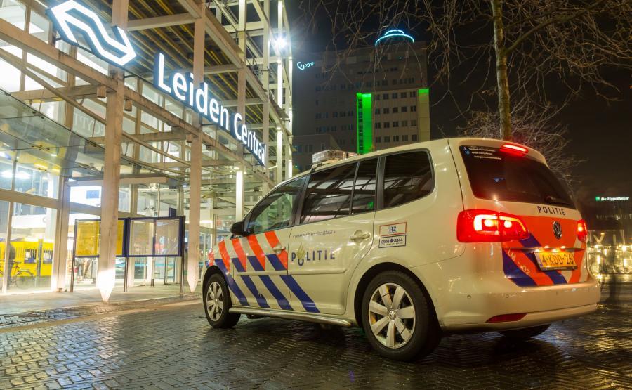 Radiowóz. Holenderska policja